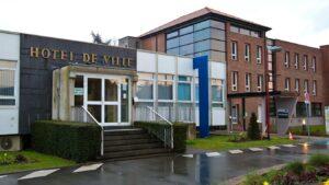 Hôtel de Ville Leers - source La voix du nord